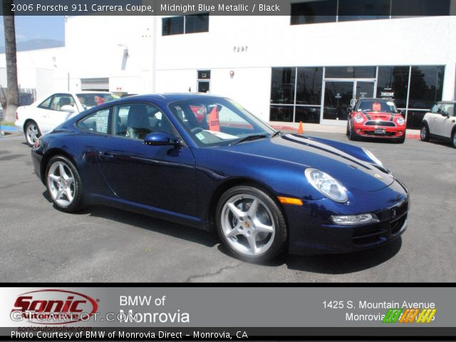 2006 Porsche 911 Carrera Coupe in Midnight Blue Metallic