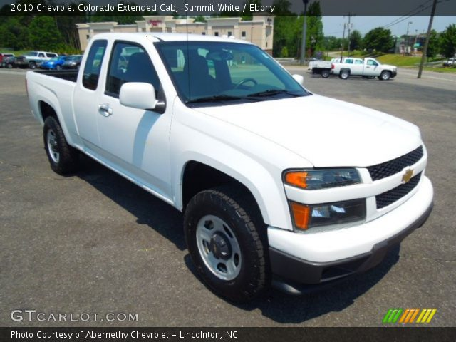 summit white 2010 chevrolet colorado extended cab. Black Bedroom Furniture Sets. Home Design Ideas