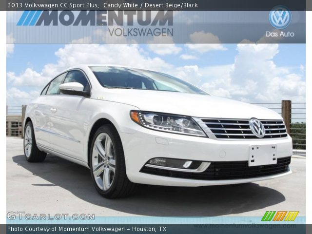 candy white 2013 volkswagen cc sport plus desert beige black interior. Black Bedroom Furniture Sets. Home Design Ideas