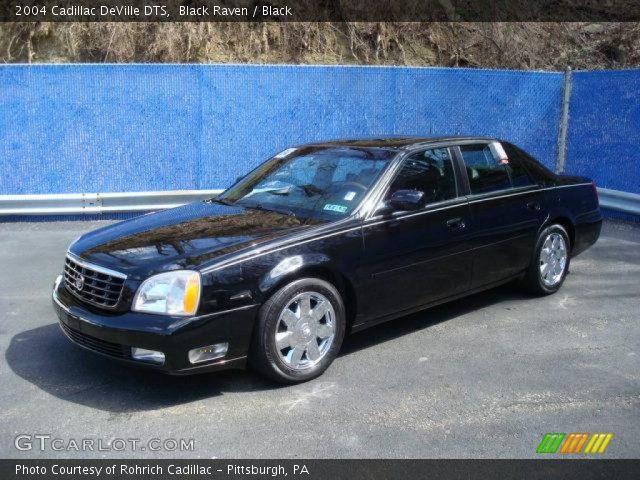 Black Raven 2004 Cadillac Deville Dts Black Interior Vehicle Archive 6841379