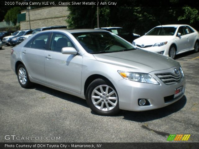 classic silver metallic 2010 toyota camry xle v6 ash. Black Bedroom Furniture Sets. Home Design Ideas