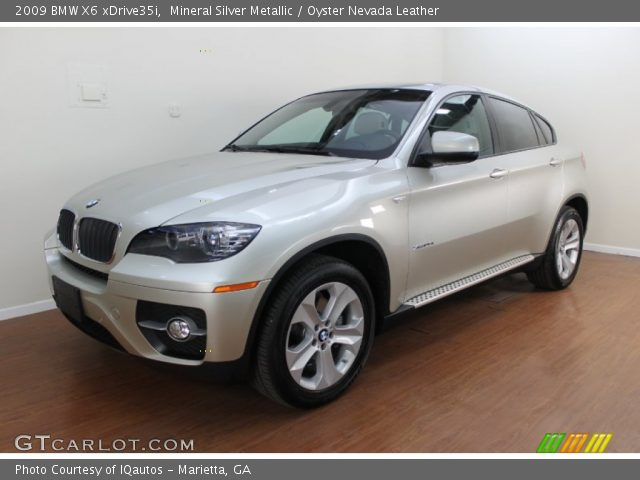 mineral silver metallic 2009 bmw x6 xdrive35i oyster. Black Bedroom Furniture Sets. Home Design Ideas
