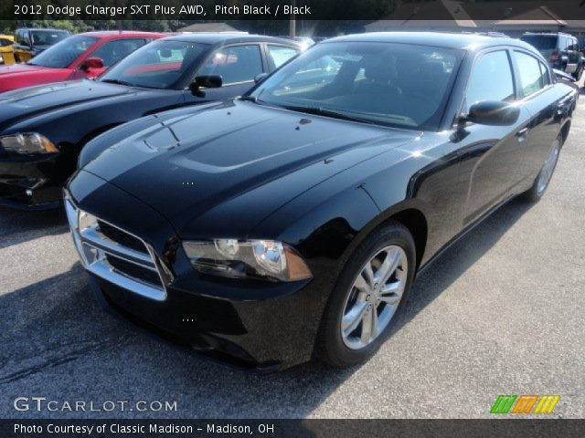 pitch black 2012 dodge charger sxt plus awd black. Black Bedroom Furniture Sets. Home Design Ideas
