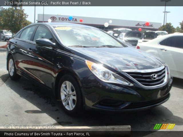 2012 hyundai sonata gls in pacific blue pearl click to see large. Black Bedroom Furniture Sets. Home Design Ideas