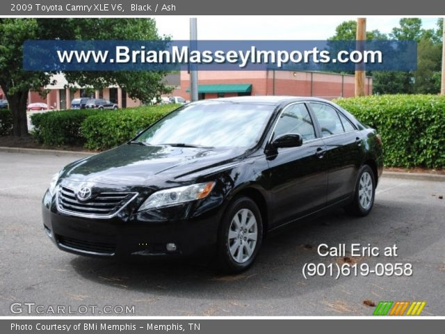 black 2009 toyota camry xle v6 ash interior vehicle archive 68579580. Black Bedroom Furniture Sets. Home Design Ideas
