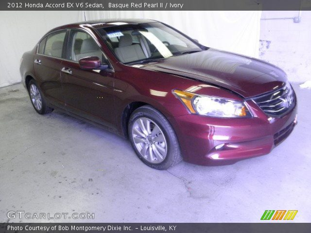 2012 Honda Accord EX V6 Sedan in Basque Red Pearl II