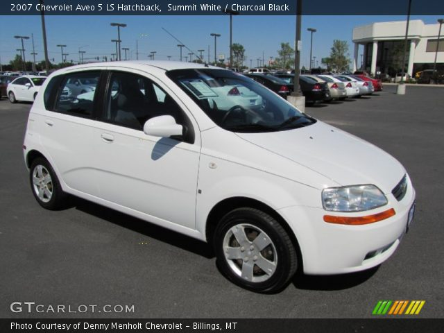 summit white 2007 chevrolet aveo 5 ls hatchback. Black Bedroom Furniture Sets. Home Design Ideas