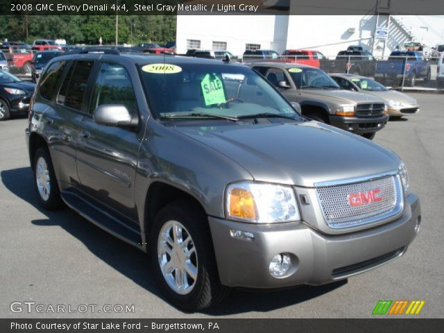 steel gray metallic 2008 gmc envoy denali 4x4 light. Black Bedroom Furniture Sets. Home Design Ideas