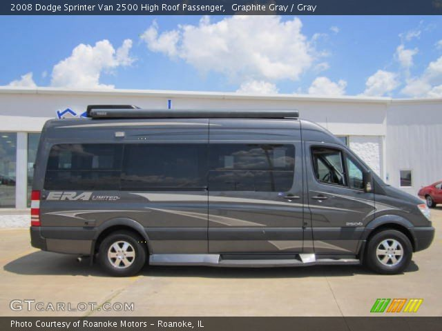 graphite gray 2008 dodge sprinter van 2500 high roof. Black Bedroom Furniture Sets. Home Design Ideas