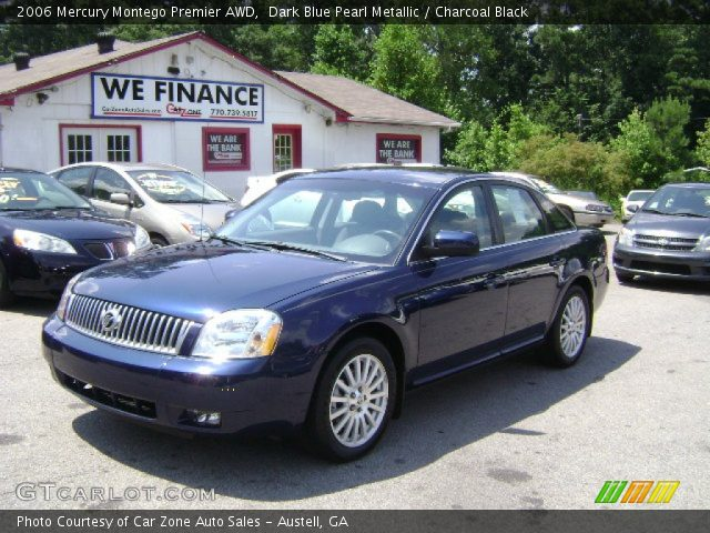 dark blue pearl metallic 2006 mercury montego premier. Black Bedroom Furniture Sets. Home Design Ideas