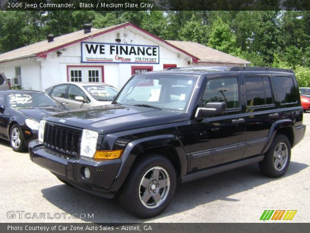 black 2006 jeep commander medium slate gray interior vehicle archive 68772397. Black Bedroom Furniture Sets. Home Design Ideas