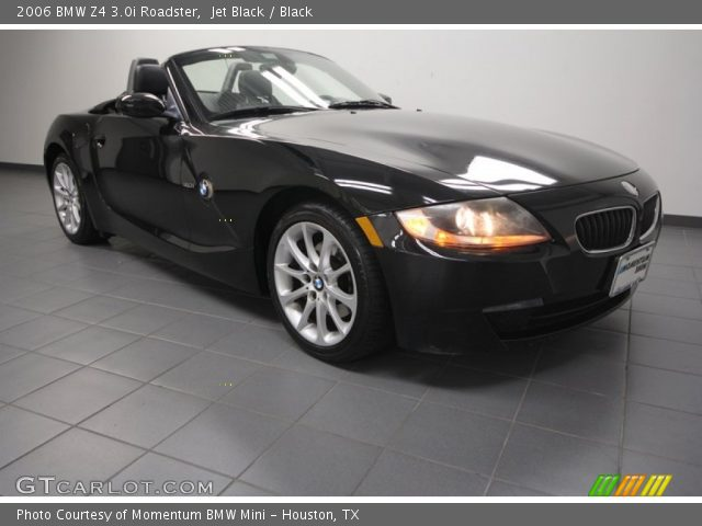 jet black 2006 bmw z4 roadster black interior. Black Bedroom Furniture Sets. Home Design Ideas