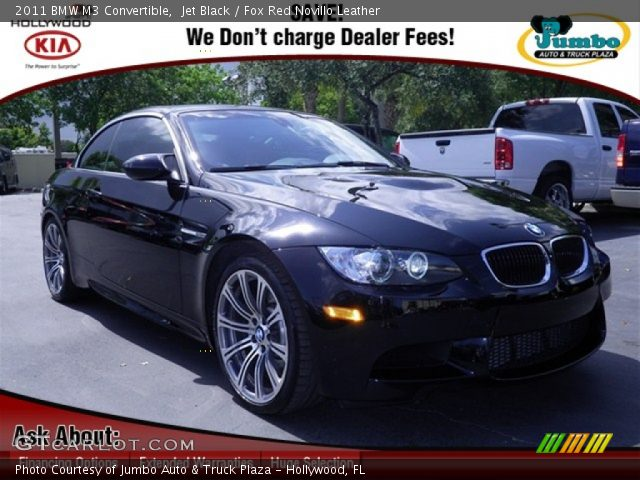 jet black 2011 bmw m3 convertible fox red novillo. Black Bedroom Furniture Sets. Home Design Ideas