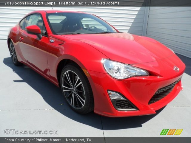 2013 Scion FR-S Sport Coupe in Firestorm Red