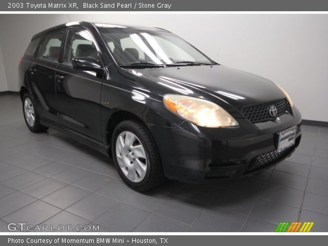 black sand pearl 2003 toyota matrix xr stone gray. Black Bedroom Furniture Sets. Home Design Ideas