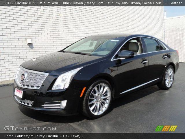 2013 Cadillac XTS Platinum AWD in Black Raven