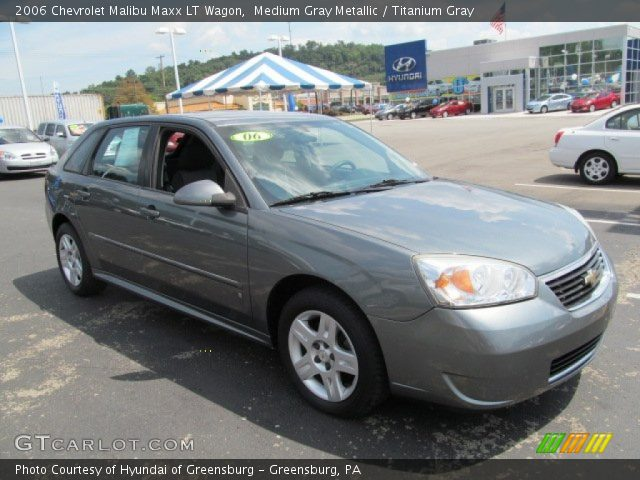medium gray metallic 2006 chevrolet malibu maxx lt wagon. Black Bedroom Furniture Sets. Home Design Ideas