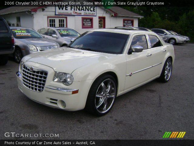 Stone white 2006 chrysler 300 c hemi heritage editon - Chrysler 300 red interior for sale ...