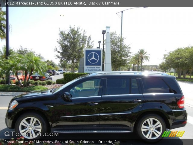 black 2012 mercedes benz gl 350 bluetec 4matic. Black Bedroom Furniture Sets. Home Design Ideas