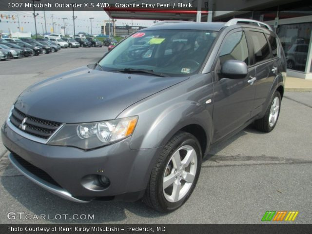 graphite gray pearl 2007 mitsubishi outlander xls 4wd. Black Bedroom Furniture Sets. Home Design Ideas