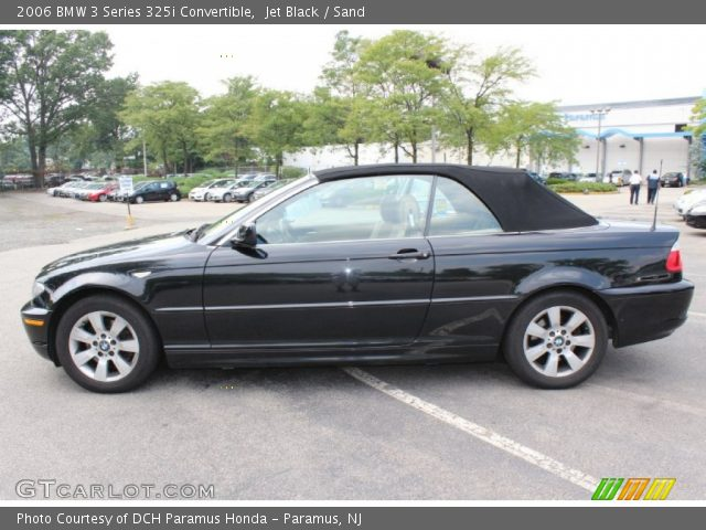 jet black 2006 bmw 3 series 325i convertible sand. Black Bedroom Furniture Sets. Home Design Ideas
