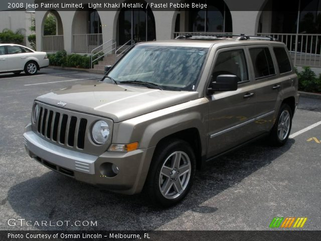 light khaki metallic 2008 jeep patriot limited pastel. Black Bedroom Furniture Sets. Home Design Ideas