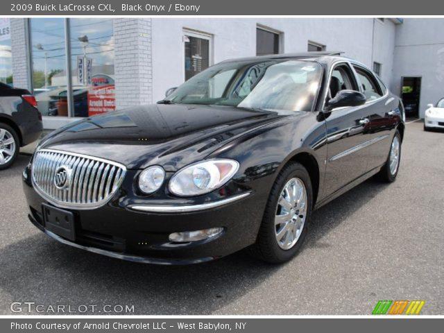 Black Onyx - 2009 Buick LaCrosse CXL - Ebony Interior | GTCarLot.com ...