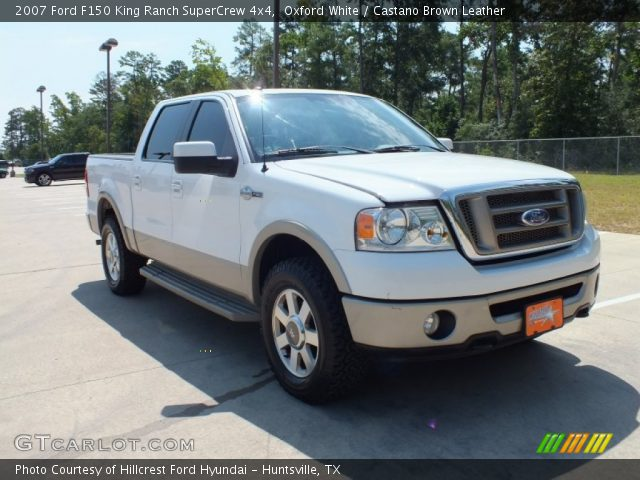 2007 Ford F150 King Ranch SuperCrew 4x4 in Oxford White