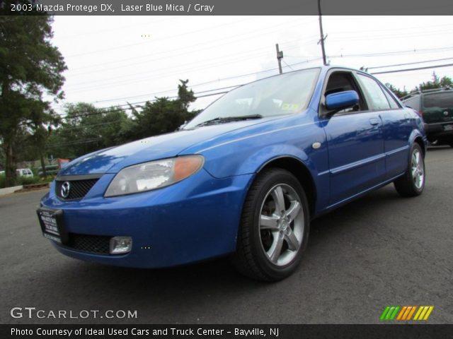 2003 Mazda Protege DX in Laser Blue Mica