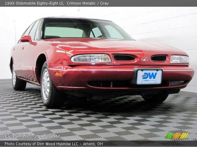 1999 Oldsmobile Eighty-Eight LS in Crimson Metallic