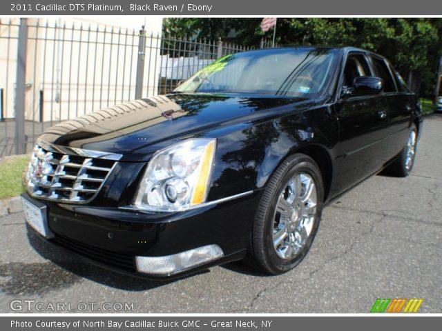 2011 Cadillac DTS Platinum in Black Raven