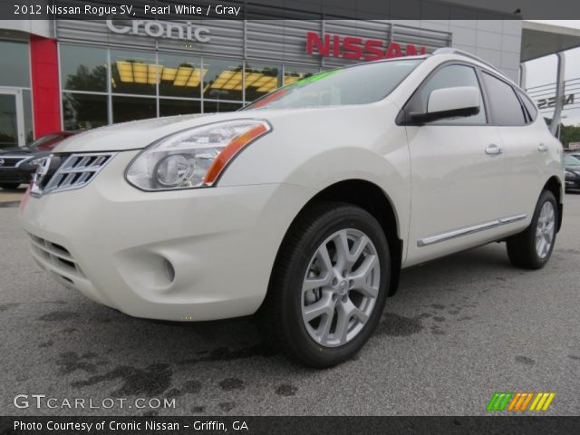 Pearl white 2012 nissan rogue sv gray interior - 2012 nissan rogue exterior colors ...