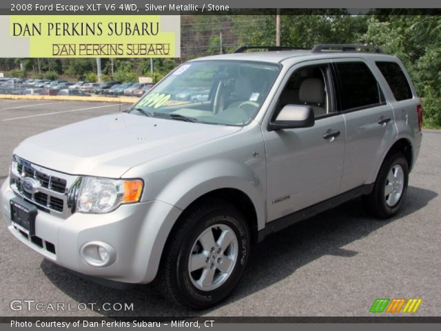 used suv 2008 silver metallic ford escape xlt for sale in. Black Bedroom Furniture Sets. Home Design Ideas