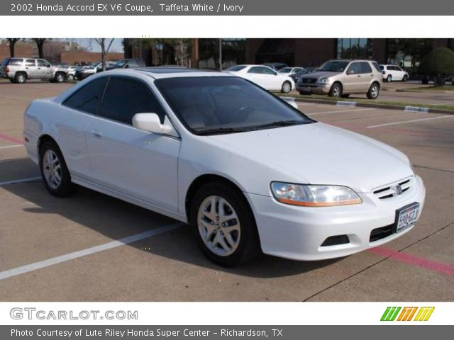 taffeta white 2002 honda accord ex v6 coupe ivory interior vehicle archive. Black Bedroom Furniture Sets. Home Design Ideas