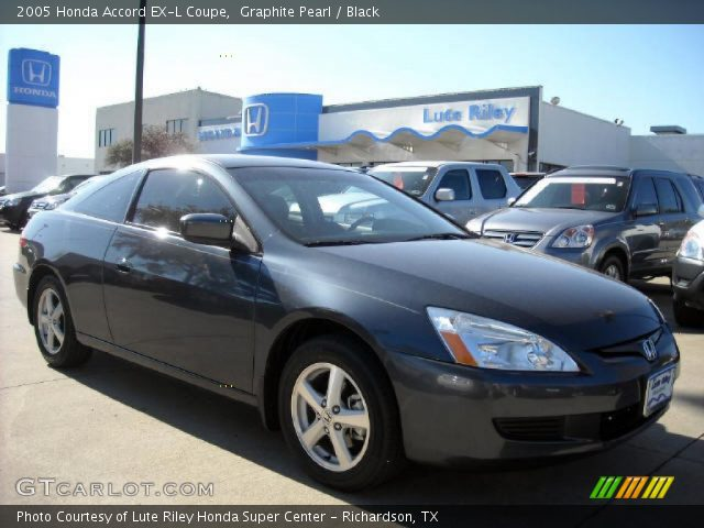 graphite pearl 2005 honda accord ex l coupe black. Black Bedroom Furniture Sets. Home Design Ideas