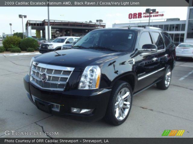 2009 Cadillac Escalade Platinum Awd