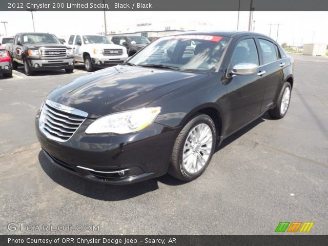 black 2012 chrysler 200 limited sedan black interior. Black Bedroom Furniture Sets. Home Design Ideas