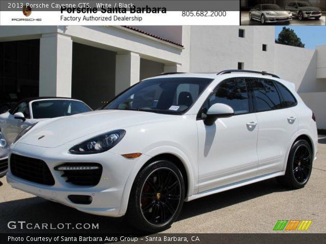 2013 Porsche Cayenne GTS in White