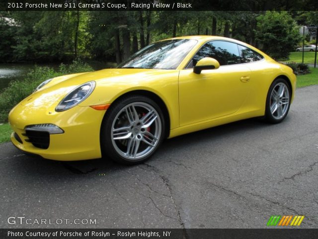 2012 Porsche New 911 Carrera S Coupe in Racing Yellow