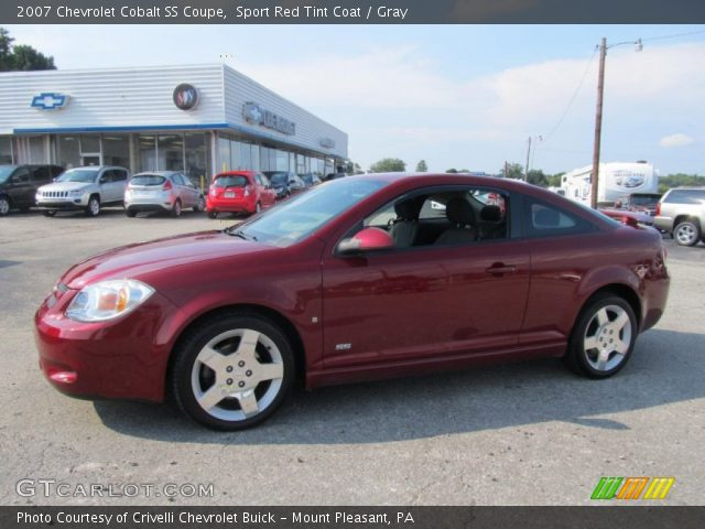 sport red tint coat 2007 chevrolet cobalt ss coupe. Black Bedroom Furniture Sets. Home Design Ideas