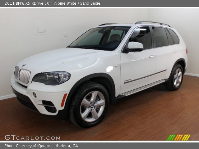 alpine white 2011 bmw x5 xdrive 50i sand beige. Black Bedroom Furniture Sets. Home Design Ideas