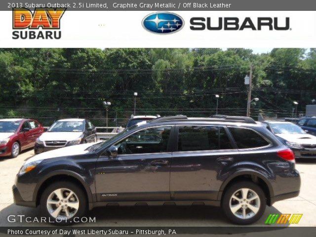 Graphite Gray Metallic 2013 Subaru Outback 25i Limited Off