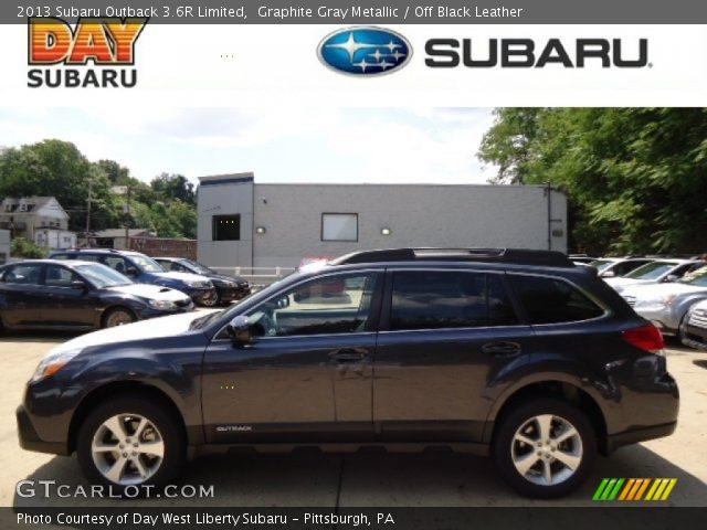 Graphite Gray Metallic 2013 Subaru Outback 36r Limited Off