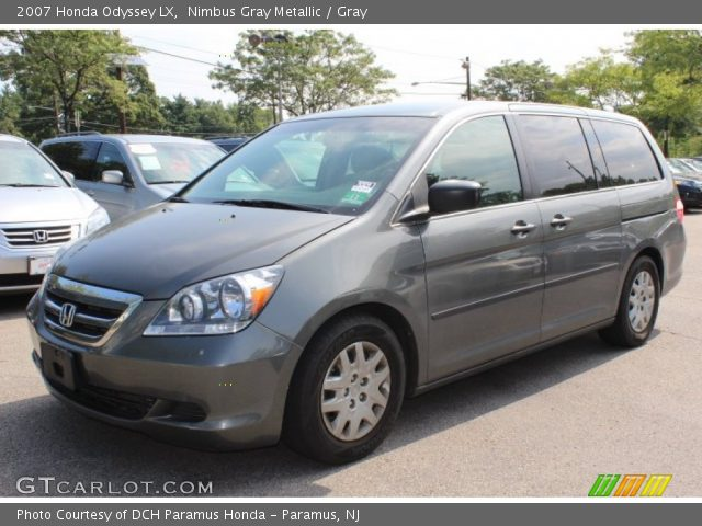 nimbus gray metallic 2007 honda odyssey lx gray. Black Bedroom Furniture Sets. Home Design Ideas