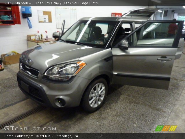 Titanium gray 2012 kia soul black soul logo cloth interior vehicle 2012 kia soul exterior colors