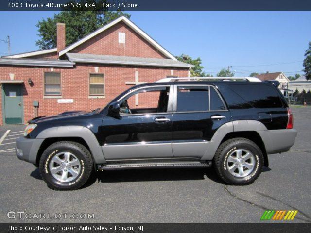 Black 2003 Toyota 4runner Sr5 4x4 Stone Interior Vehicle Archive 69461448