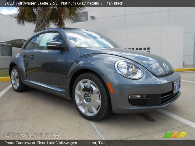 platinum gray metallic 2013 volkswagen beetle 2 5l. Black Bedroom Furniture Sets. Home Design Ideas