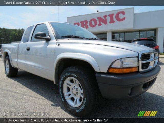 on 2003 Dodge Dakota Silver