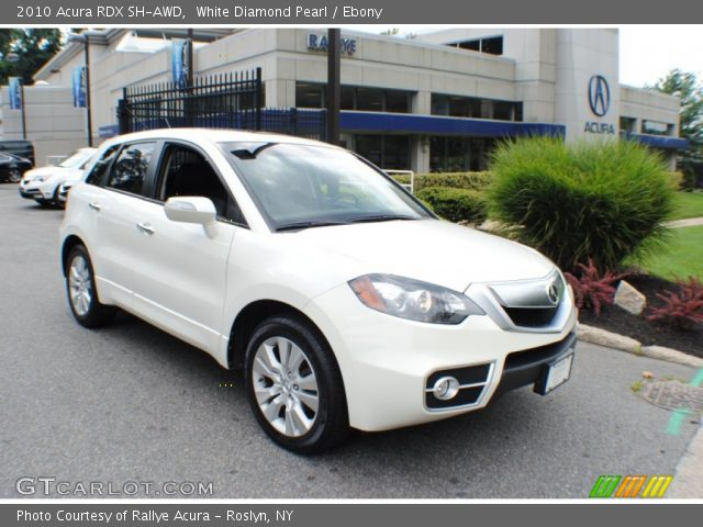2010 Acura RDX SH-AWD in White Diamond Pearl. Click to see large photo ...