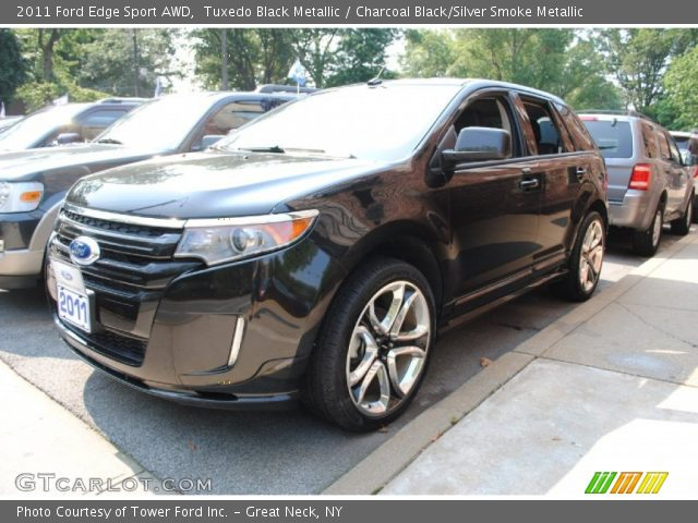 tuxedo black metallic 2011 ford edge sport awd. Black Bedroom Furniture Sets. Home Design Ideas